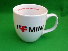 BMW MINI Dealership only Mug Coffee Tea Cooper One | eBay