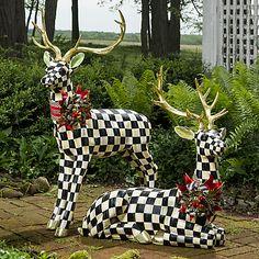 MacKenzie-Childs | Highland Holiday Poinsettia Pot