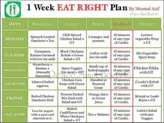 momal diet plan 5