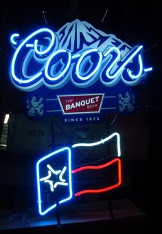 Vintage Neon Beer Signs Interesting Vintage Neon Signs  Neon Lights  Pinterest  Vintage Neon Signs