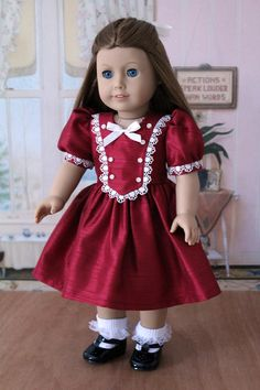 1940's Frock for Emily or Molly by BabiesArtUs on Etsy, $45.00