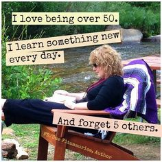 Over 50 has benefits :) I Love To Laugh, Make You Smile, Over 50, Getting Old, I Laughed, Laughter, Haha, Jokes, Author