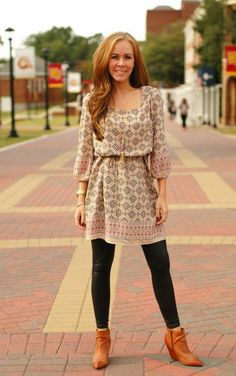 Adeline Dress in Taupe, $44.99