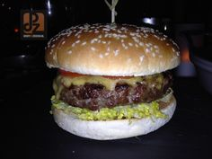 Best Burger at Sixty Bar Moscow