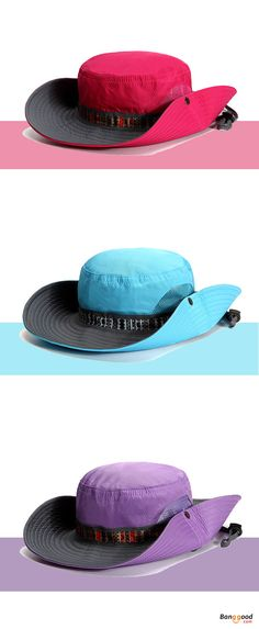 Women Ladies Summer Sunshade Hat. Outdoor Protection UV-Proof Hat. Foldable  Fisherman Hat. Breathable d0d2a2683923