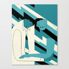 """""""How to Avoid Empathy Burnout"""" by Hanna Barczyk for Nautilus Canvas Print by nautilusmag"""
