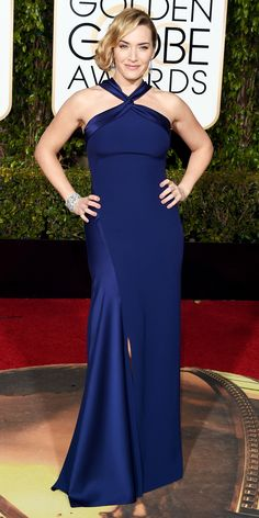 Eric Wilson's Top 10 Best Dressed at the 2016 Golden Globes - Kate Winslet in Ralph Lauren  - from InStyle.com