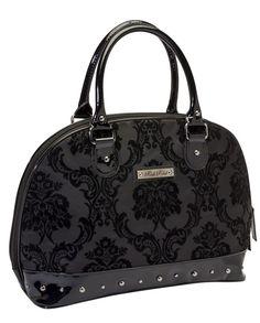 Rock Rebel // Madame Midnight Black Handbag