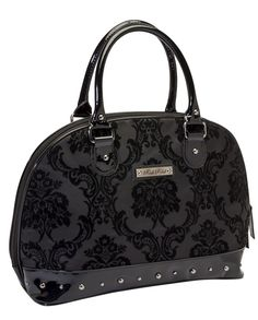 Rock Rebel // Madame Midnight Black Handbag
