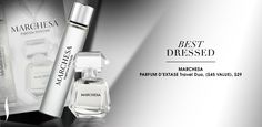 BEST DRESSED: Marchesa PARFUM D'EXTASE Travel Duo. #Sephora #Awards #RedCarpetBeauty