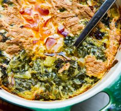 creamy #vegan Baked Spinach Dip with kraut and truffle