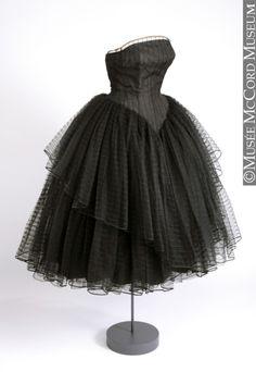 Evening dress, ca 1956