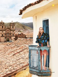 visual optimism; fashion editorials, shows, campaigns & more!: the accidental tourist: nathalia oliveira by nicole bentley for marie claire ...