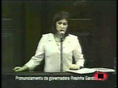 Rosinha Garotinho denuncia a Rede Globo