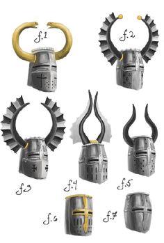 Fancy - Teutonic knights helmets ranking
