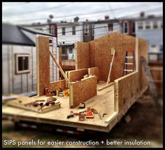 1000 images about sip on pinterest insulation for What is sip construction