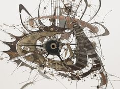 Lee Bontecou Sculpture -  Wow!   http://www.moma.org/explore/inside_out/2010/06/17/the-imaginative-universe-of-lee-bontecou-s-sculpture/