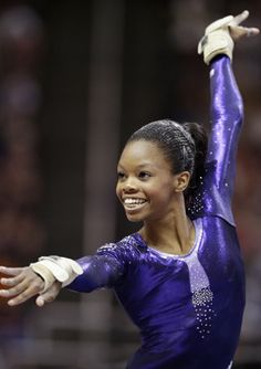 """I've always wanted to inspire people. And the thing about the Olympics, this quote you see: 'Inspire a Generation.' So, you know, I could check that off my bucket list."" Gabby Douglas"