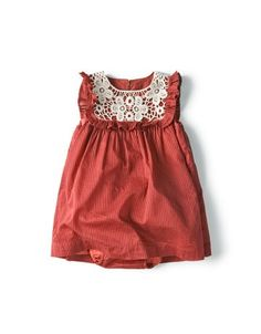 @Melinda Osterhout: In London, on Portobello Road, find some vintage French lace collars...then make this dress for Nell, ok?