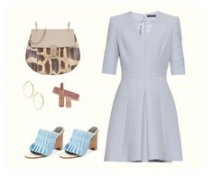 """Light-Pastel-Blue"" by gloria-3789 ❤ liked on Polyvore featuring Chloé, TIBI, Alexander McQueen and GUESS by Marciano"