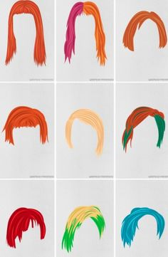 The many fabulous hairstyles of Hayley, 2013-2014