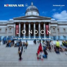 London, one of our 126 destinations. #koreanair