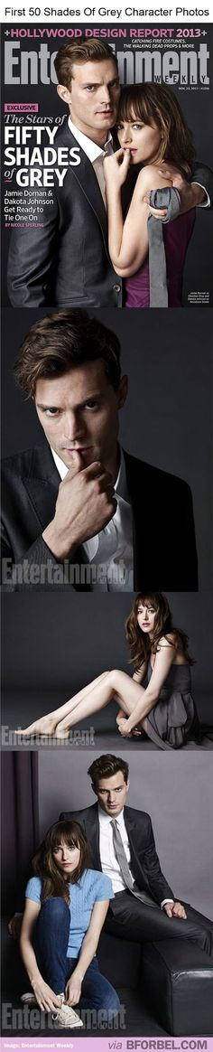 """First Look At """"50 Shades Of Grey"""" Character Photos… What Do You Think? Is That Christian Grey And Ana Steele?"""