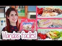Vainilla Crocante - YouTube Snack Recipes, Snacks, Paninis, Cooking, Food, Youtube, Dessert Food, Cooking Recipes, Food Cakes