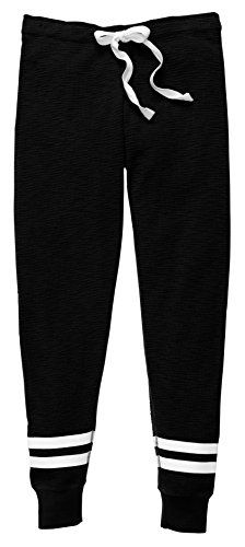 Salt Tree Women/'s Basic Camouflage Print Tapped Stripe Jogger Sweatpant
