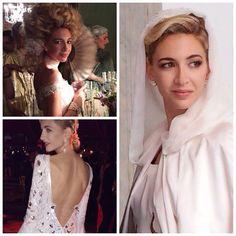 1 bride, 3 looks #divine #sabineg merveilleuse lors de son mariage à Rome #makeup #enywhitehead ❤️ @sabine_g #JOEBINE