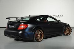 Mercedes-Benz W204 C63 AMG Black Series on Vossen Wheels | BENZTUNING | Performance and Style