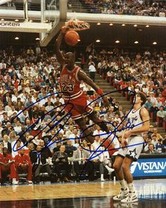 9b9d01fde NBA Legend Michael Jordan Autograph Hand Signed 8x10 Photo with certificate  of authenticity. Jordan