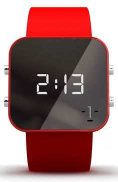 Free shipping and returns on 1:Facewatch 1:Face 'AIDS' Square Digital Silicone Strap Watch, 38mm at Nordstrom.com. One person has the power to change the world, and this square digital watch lets you do just that. Pick a cause and watch the profits from your purchase affect global change.