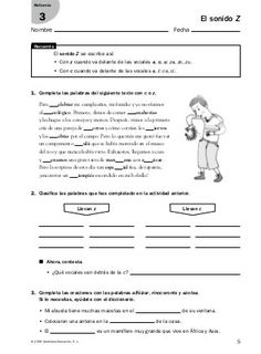 from Refuerzo - Lenguaje Spanish Worksheets, Dual Language, English Class, Teaching Spanish, Acting, Homeschool, Education, Life, Teacher