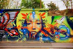 Sunday Street Art : Marko 93 - rue de l'Ourcq - Paris 19 | ParisianShoeGals