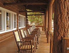 Roosevelt Lodge Cabins, Yellowstone for a Wild west feel.
