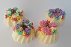 Soap cupcake soap decorative decor soap by NicoleRoyalCreations