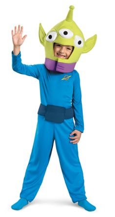 Find Disney Toy Story costumes here for Halloween or theme parties. We have adult and child Toy Story costumes including Buzz Lightyear costumes. Kids Alien Costume, Toy Story Alien Costume, Thor Costume, Toy Story Costumes, Toddler Costumes, Boy Costumes, Funny Halloween Costumes, Halloween Kids, Costume Ideas