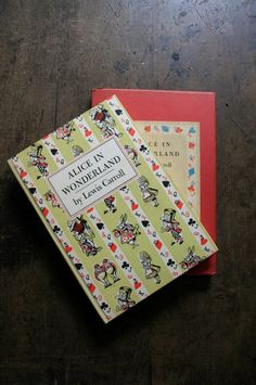 Near Fine Lewis Carrolls ALICE in WONDERLAND Classic John Tenniel engravings Vintage Childrens Book in Slipcase. $45.00, via Etsy.