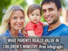 What Parents Really Value in Children's Ministry (free infograph) ~ RELEVANT CHILDREN'S MINISTRY