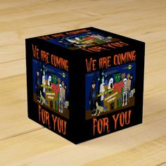 #affiliatelink #promo Halloween Village Favor Box #halloween #village #monster #zombie #ghost #FavorBox #halloweenfavors #halloweenparty #halloween #halloweenentertaining #zazzle Halloween Party Favors, Diy Halloween Decorations, Halloween Village Display, Pumpkin House, Halloween Entertaining, Favor Boxes, Scary Halloween, Holiday Cards, Art For Kids