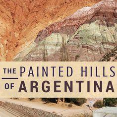 Argentina Travel Tips   The Painted Hills of Argentina: Purmamarca, Tilcara & Humahuaca l @tbproject