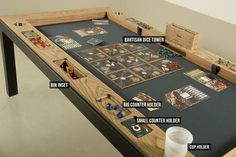 The Phalanx - A Gaming table to play, work and eat.