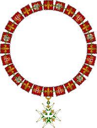 Collier des commandeurs (prélats) de l'ordre du Saint-Esprit