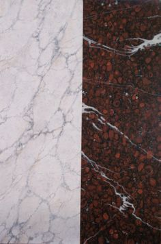 Faux Marble class in CT - White veined Marble and Red Griotte - 2013 http://mjpfaux.com/painted-faux-marble/