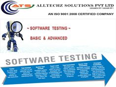 AllTechZ Solutions is one of the Best Software Testing Training Institute in Chennai. ATS provide training on Software Testing with good testing and test automation skills experience. ATS is the best place to get training in software testing. It has very friendly environment for candidates. They have vast years experienced faculty. It was a great experience to get trained in Alltechz. The Knowledge given by the expert was totally practical. They also provide good placement environment.