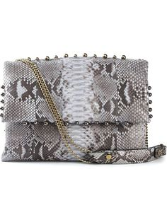 Shop Lanvin studded shoulder bag in Maria STORE from the world's best independent boutiques at farfetch.com. Over 1000 designers from 300 boutiques in one website.