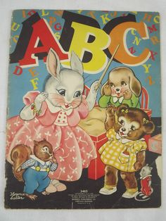 ''ABC'' ill. Florence Salter, Merrill 1939