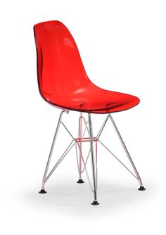 Baby Spire  Chair  Transparent Red