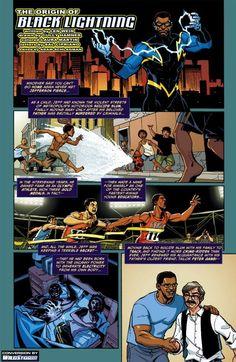 Black Lightning Appreciation - Page 4 Black Comics, Black Lightning, Slums, Dc Heroes, Mythology, Fun Facts, Appreciation, The Originals, Origins